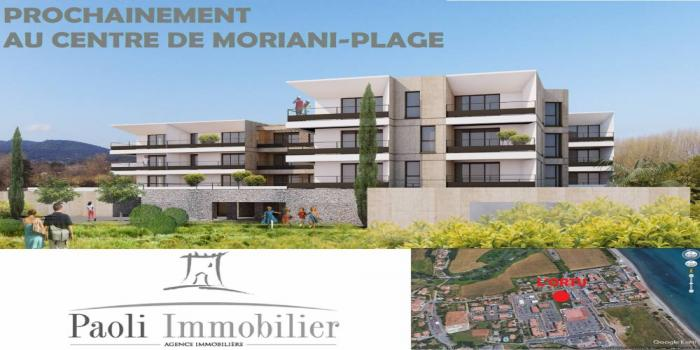 MORIANI PLAGE, 2 Chambres Chambres, ,1 Salle de bainsSalle de bain,T3,L ORTU,1024