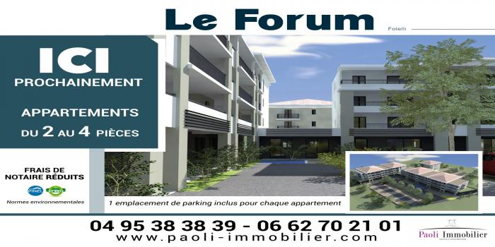 FOLELLI, 20213, 1 Chambre Chambres, ,1 Salle de bainsSalle de bain,T2,LE FORUM,1092